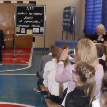 Błażeja talent recytatorski