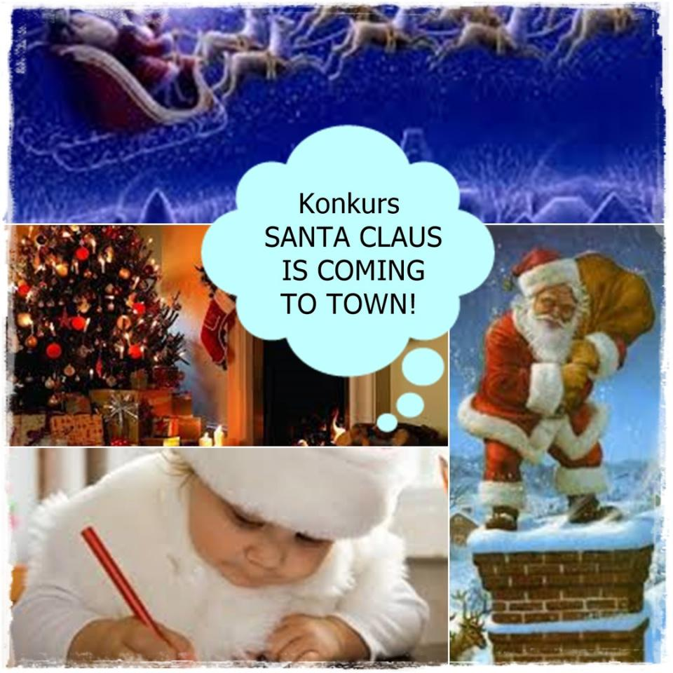 "Konkurs ""Santa Claus is coming to town"""
