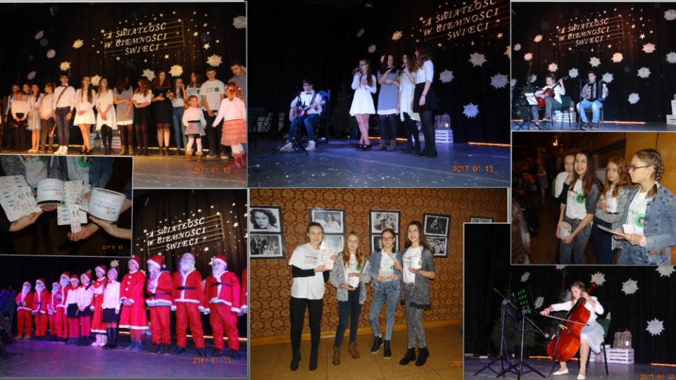 Noworoczny Koncert Talentów Jedynki A światłość W Ciemności świeci